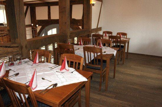 """Leckeres Essen und gemütliche Atmosphäre: Das Gasthaus """"Zum Thiergarten"""" am Tierpark Sababurg"""