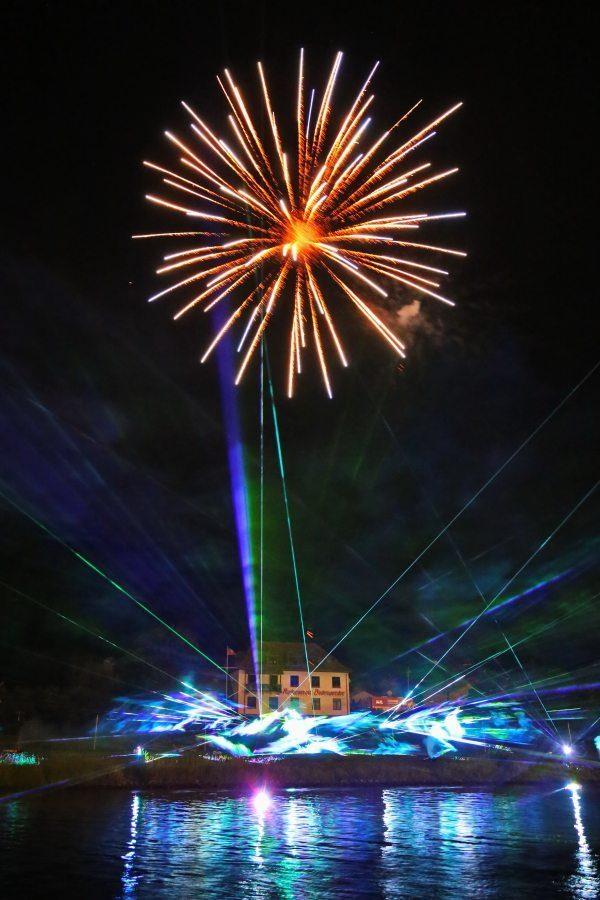 64. Lichterfest in der Münchhausenstadt Bodenwerder