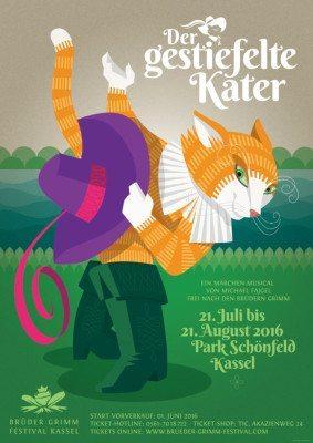 Der gestiefelte Kater in Musicalfassung von Michael Fajgel auf dem Kasseler Brüder Grimm-Festival