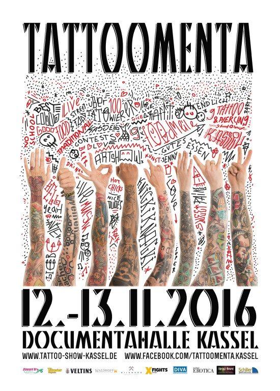9.Tattoo & Piercing Show Kassel - Tattoomenta 2016 - Genadelt ist, wer Schmerzen kennt.