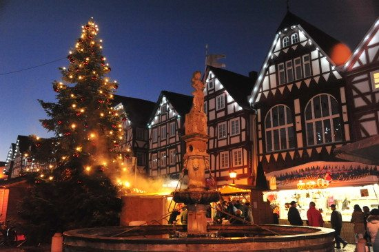 Weihnachtsmarkt 2016 in Fritzlar
