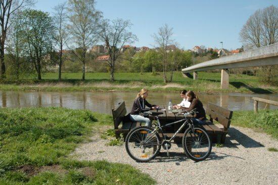 Diemelradweg im Bereich Warburg (Autor: Hubert Rösel)