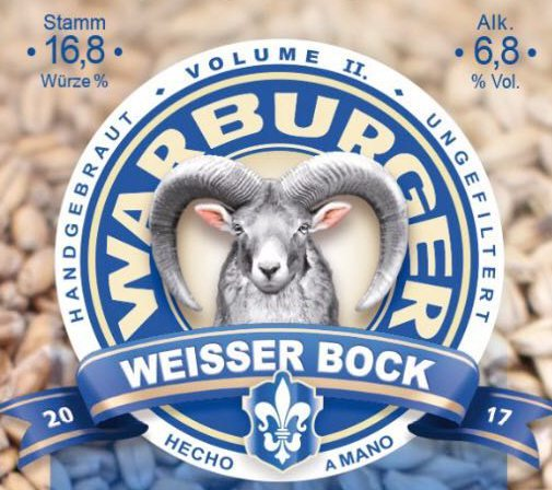 Neues Bier: Weißer Bock