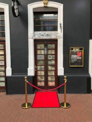 Eröffnung der Schauspielbar in Paderborn - Zombies bei der Premiere!