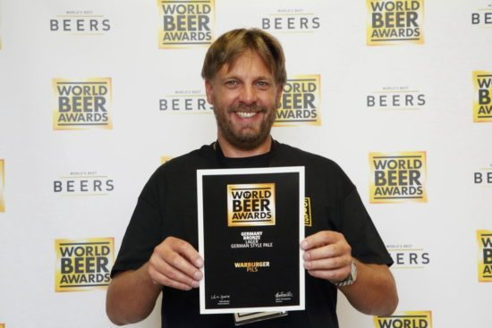 Warburger Brauerei holt Bronze bei den World Beer Awards 2017