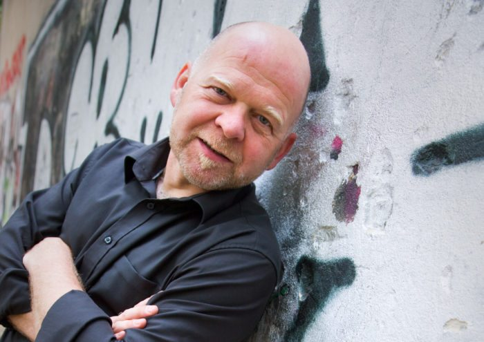 Optimistische Zukunft? - Bernd Gieseking in Lauenförde (Foto: Holger Lorenz)