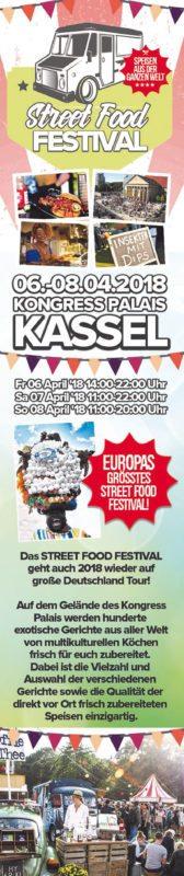 Großes Street Food Festival in Kassel!