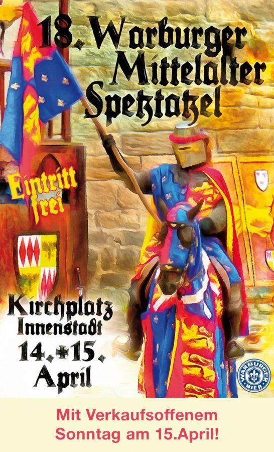18. Warburger Mittelalter-Spektakel  –  Hochjauchzendes Treiben