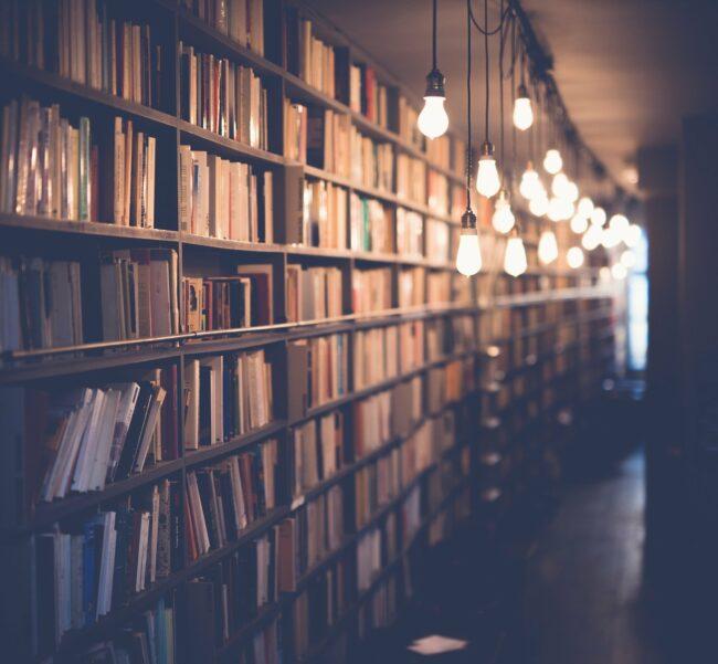 In den letzten Jahren konnten sich Schüler:innen zum <strong>Weltbuchtag</strong> in einer <strong>Bücherei</strong> ein kostenloses Buch abholen. Das ist dieses Jahr leider kaum möglich. | (c) StockSnap auf Pixabay