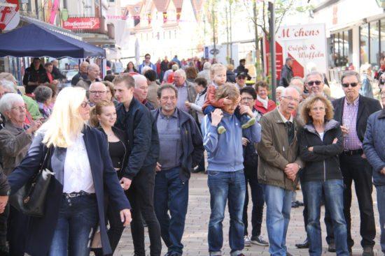 Für das Frankenberger Stadtfest werden wie im Vorjahr viele Besucher erwartet. Foto: mjx