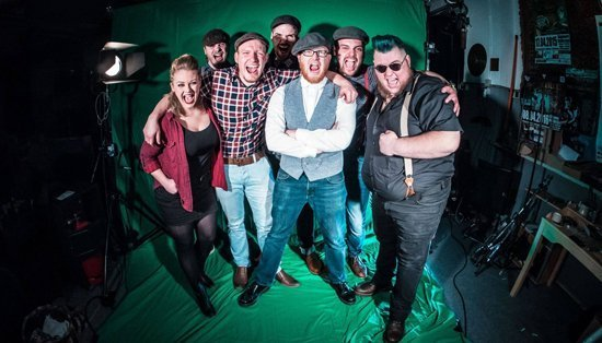 The O'Reillies and The Paddyhats spielen am 30.6.2018 auf dem Rock im Park Festival in Loshausen