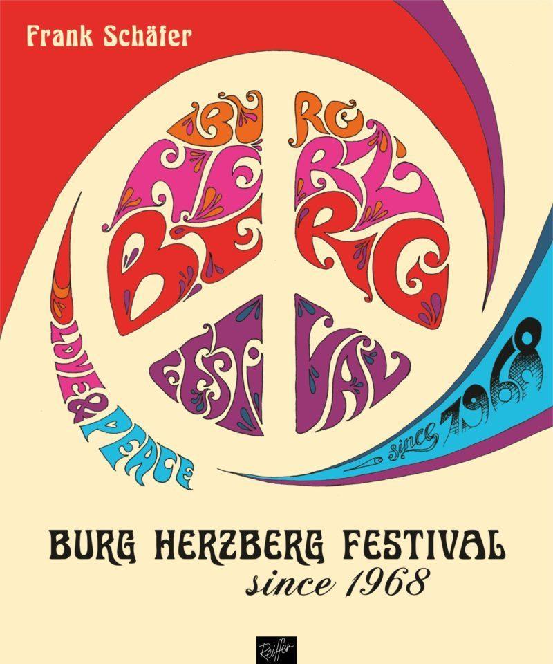 Buchcover Burg Herzberg Festival since 1968 Autor Frank Schäfer