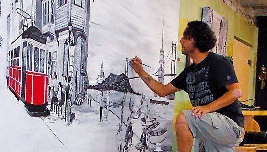 Suat Özdemir hat ein Talent dafür, seine Bilder lebendig wirken zu lassen