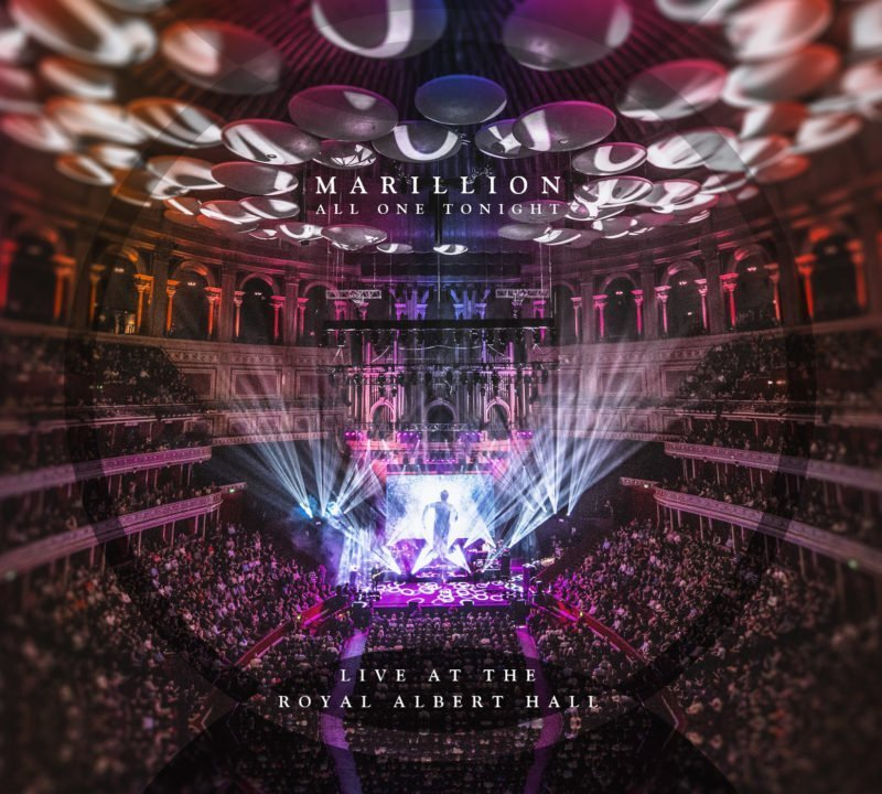 CD Cover Marillion All One Tonight