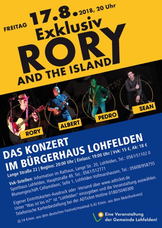Er kommt wieder: Rory Gallagher in Lohfelden!