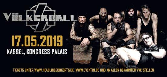 Rammstein-Coverband Völkerball in Kassel und weiteren Orten