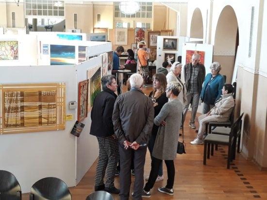 Kunst verbindet: Der 24. Homberger Künstlertreff