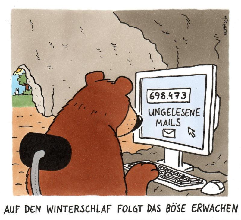 Oliver Ottitsch - Winterschlaf