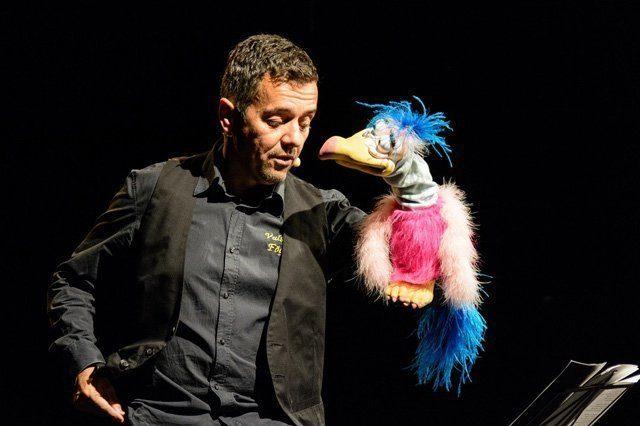 Die Valschen Fögel von Peter Dietrich (Foto: Homepage des Künstlers)
