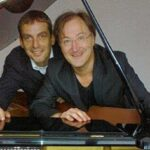 Denn tralala, so ist das Leben … Ralph Dillmann und Gerd Kaufhold in Marburg
