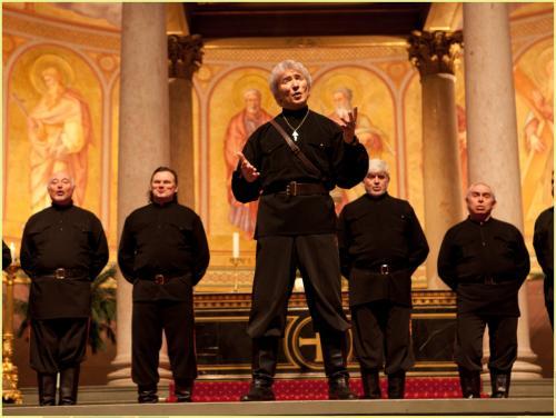 Peter Orloff und der Schwarzmeer Kosaken-Chor (Quelle: Homepage des Chores)
