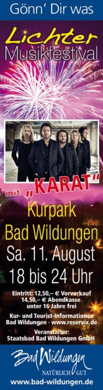 LichterMusik-Festival 2018 mit KARAT
