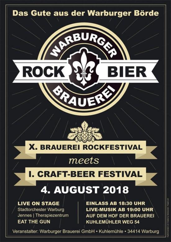Warburger Brauerei Rockfestival 2018