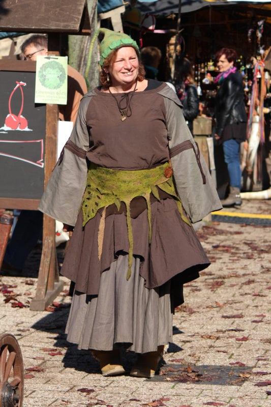 Historischer Mittelalterlicher Markt in Korbach