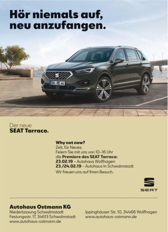 Autohaus Ostmann - Opening Days und Präsentation Seat Tarraco!