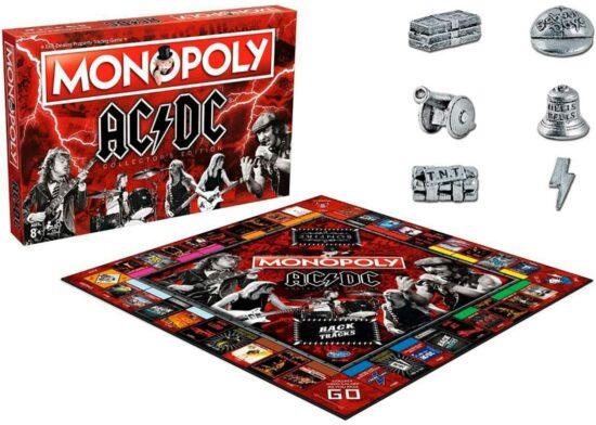 ACDC Monopoly Brtettspiel AC-DC Spiel