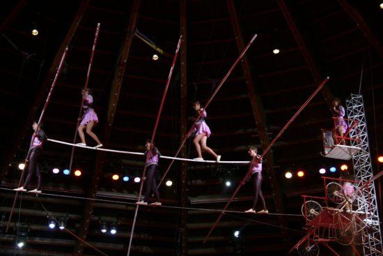 Zusammen staunen - Festival der Akrobaten in Fulda und Bad Hersfeld
