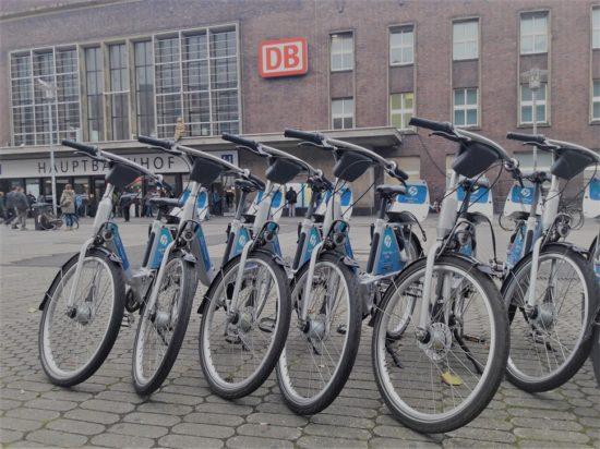 Call a Bike Fahrräder