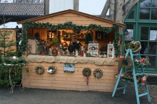 Mittelalterlicher Weihnachtsmarkt im Tierpark Sababurg