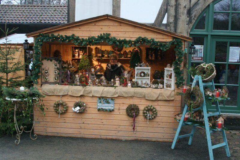 Mittelalterlicher Weihnachtsmarkt.Mittelalterlicher Weihnachtsmarkt Im Tierpark Sababurg