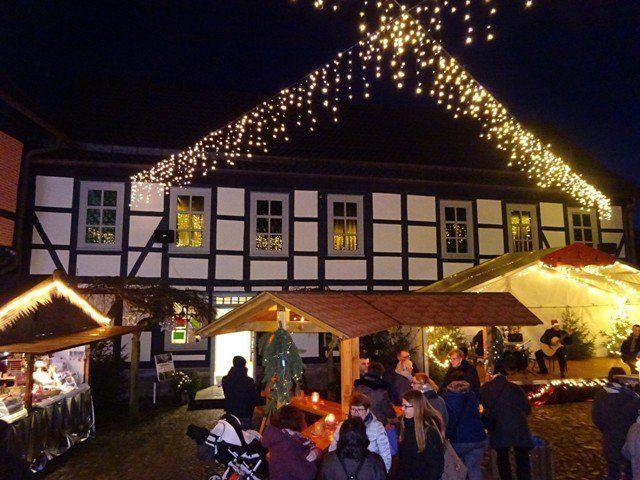 Uslarer Weihnachtsmarkt - Innenhof