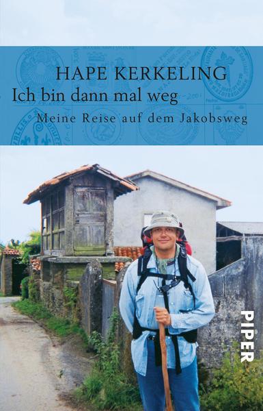 Das Cover seines Erfolgsbuches zeigt Kerkeling bei seiner Pilgerreise. Nach dem Buch folgte der Film, jetzt schließt das Theater Marburg an den Erfolg an.