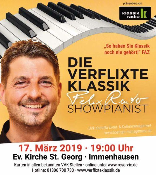Comedy und Klassik - Felix Reuter in Immenhausen