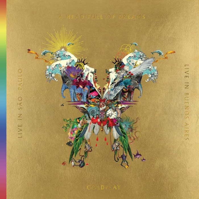 Coldplay Live In Buenos Aires CD Cover