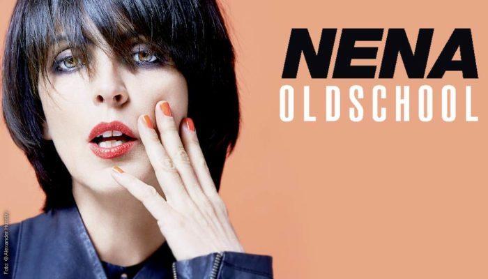 """Nenas Titelcover des Albums """"Oldschool"""" von 2015"""