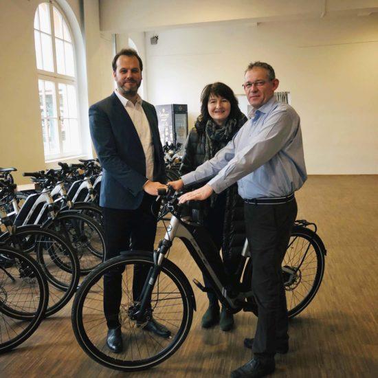 NVV zieht positive Bilanz zum Pedelec-Projekt BikeExtra - Ab 2019 in ganz Nordhessen Teilnahme möglich