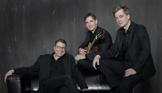 Das Münchner Gitarrentrio besteht aus Alexander Leidolph, Thomas Etschmann und Mikhail Antropov.