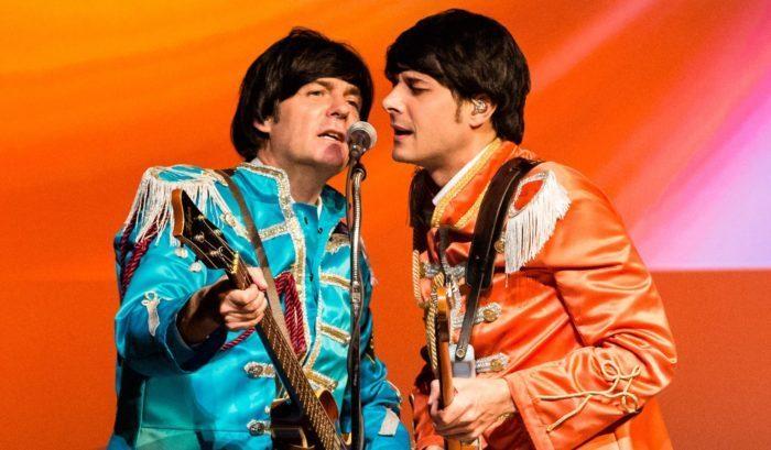 Tolle Kostüme, aber auch überzeugender Gesang, um den Beatles nahe zu sein.