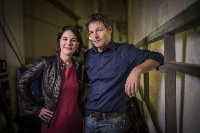 Annalena Baerbock und Robert Habeck sind die Parteivorsitzenden von BÜNDNIS 90/DIE GRÜNEN. Auch Habeck zog sich aus den sozialen Medien zurück. Foto: © Dominik Butzmann