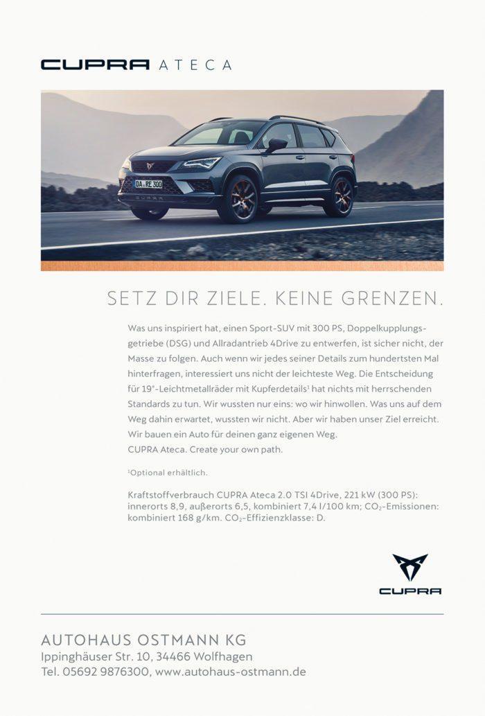 Wir werben im Wildwechsel – Die Anzeigenkunden aus den Printausgaben 01-2019