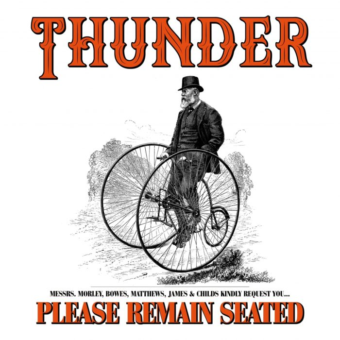 CD Cover Thunder - Please Remain Seated