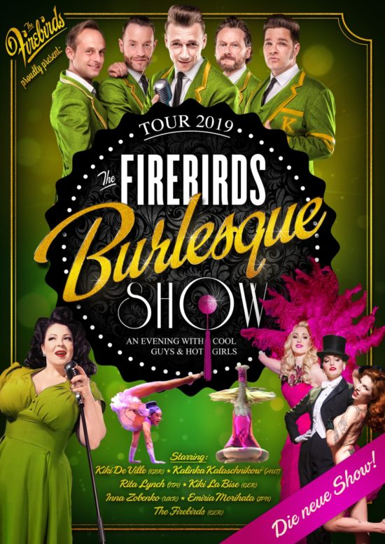 The Firebirds Burlesque Show 2019 in Bad Hersfeld
