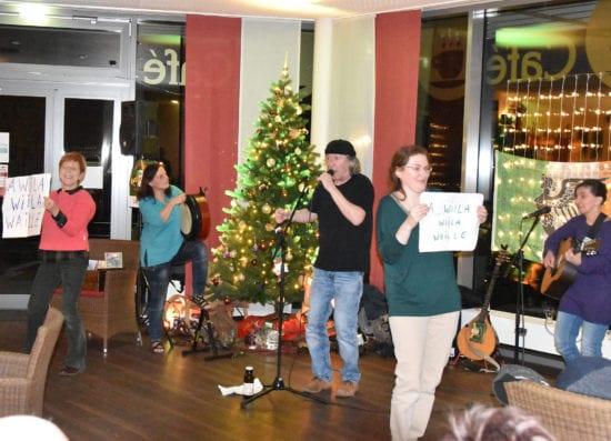 Jahresauftakt mit Livemusik von der Irish-Folk-Band
