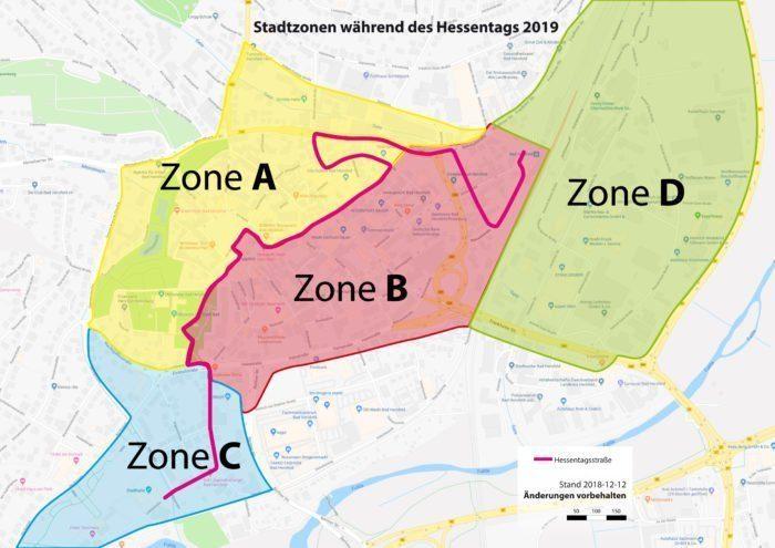 Stadtzonen Hessentag