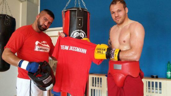 Team Jassmann - Vater und Sohn gehören dazu wie auch viele Fans.
