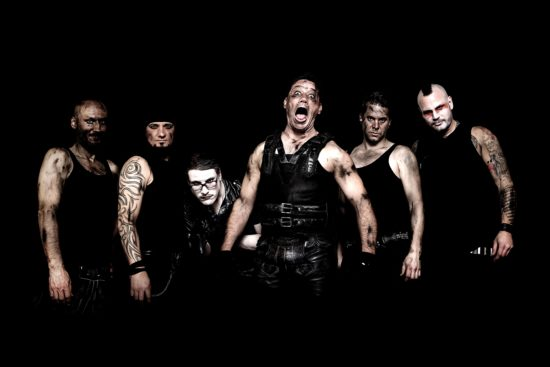 Rammstein-Coverband Völkerball in Kassel
